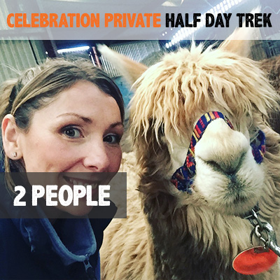 Celebration Private Half Day Llama Trek